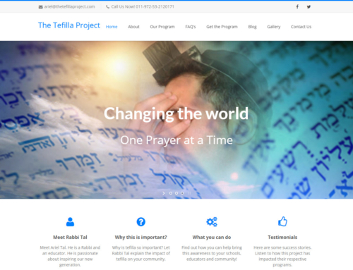 The Tefilla Project